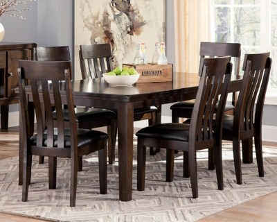 Haddigan Dining Room Table Ashley Furniture Homestore