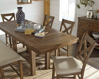 Moriville Counter Height Dining Room Table Ashley