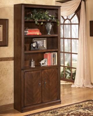 Hamlyn 75quot Bookcase Ashley Furniture Homestore