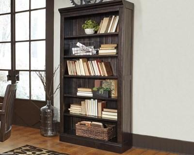 Townser 75quot Bookcase Ashley Furniture Homestore