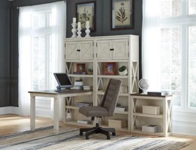Bolanburg 75quot Bookcase Ashley Furniture Homestore