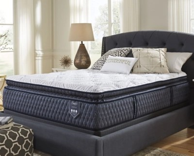 Bedroom Mattress Santa Fe Pillowtop Queen Mattress Ashley Homestore