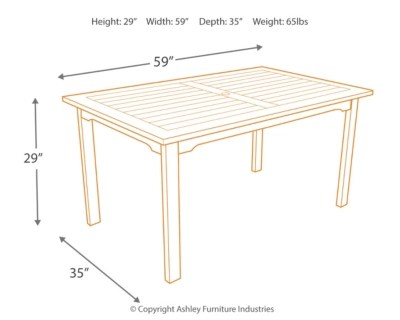 Nelson Eucalyptus Table Ashley Furniture Homestore