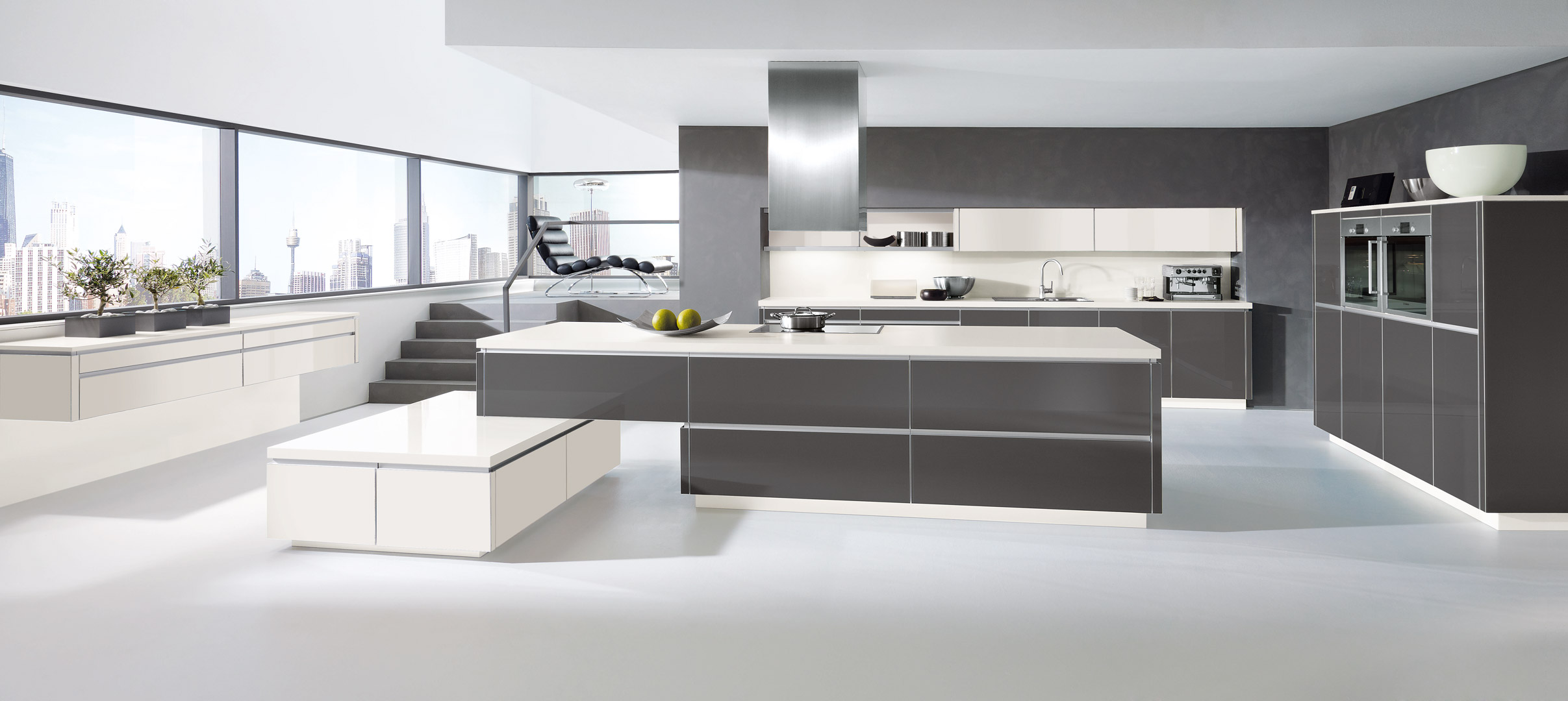 Magnolia Farbe Alno Küche Fitted Kitchens By Alno Sussex Surrey London