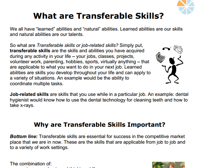 Charming Resume Transferable Skills Examples Resume Sample Example Business News  Daily Skills Based Resume Examples Building Maintenance