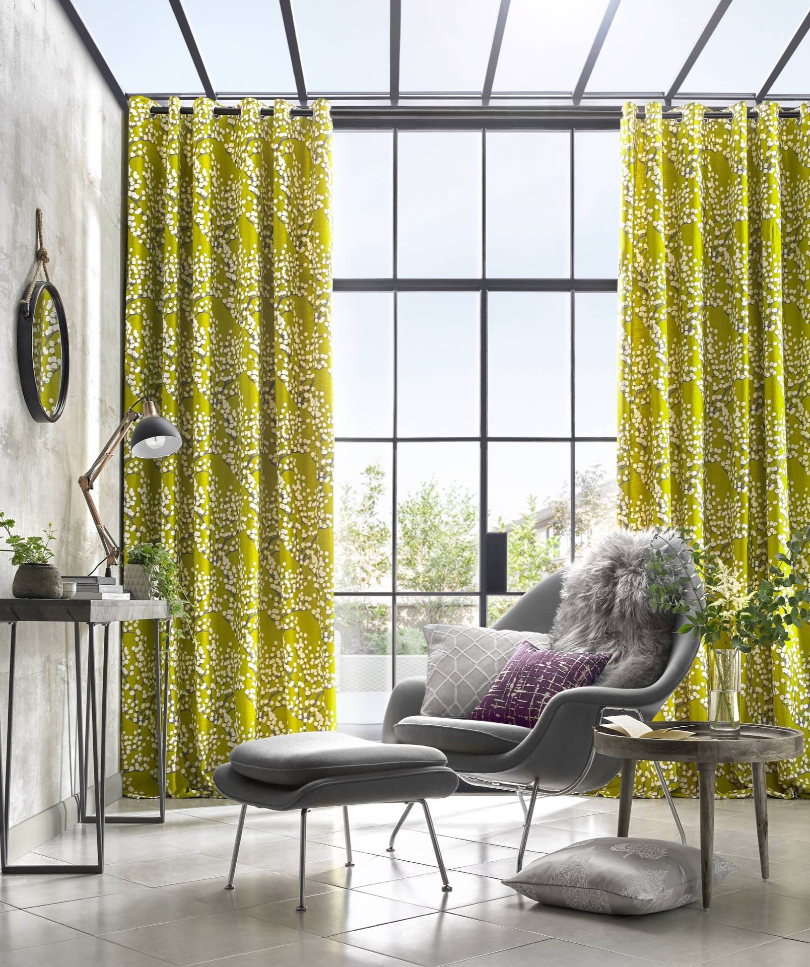 Scandinavian Ready Made Curtains Lamont Collection Ashley Wilde
