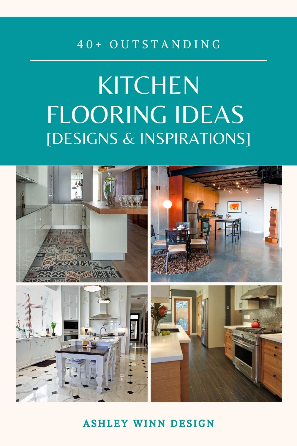 40 Outstanding Kitchen Flooring Ideas In 2020 Designs Inspirations