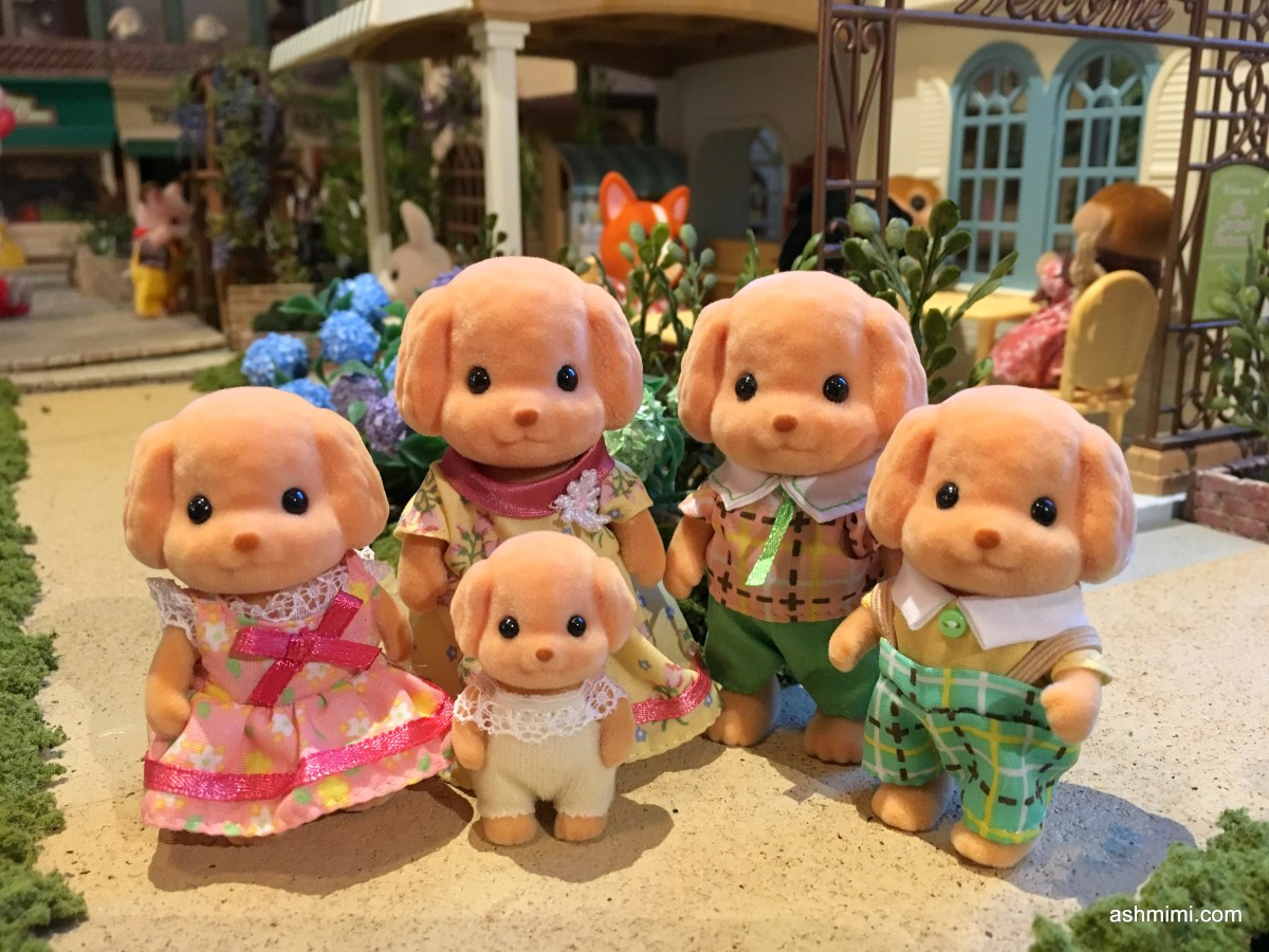 Hi, there, fellow Sylvanians! I'm still suffering from a cold! Ha ha ...