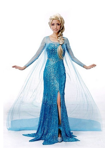 Adult Frozen Costumes - Anna & Elsa Cosplay and Accessories