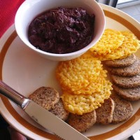 """Paleo"" Almond Meal and Parmesan Crackers"