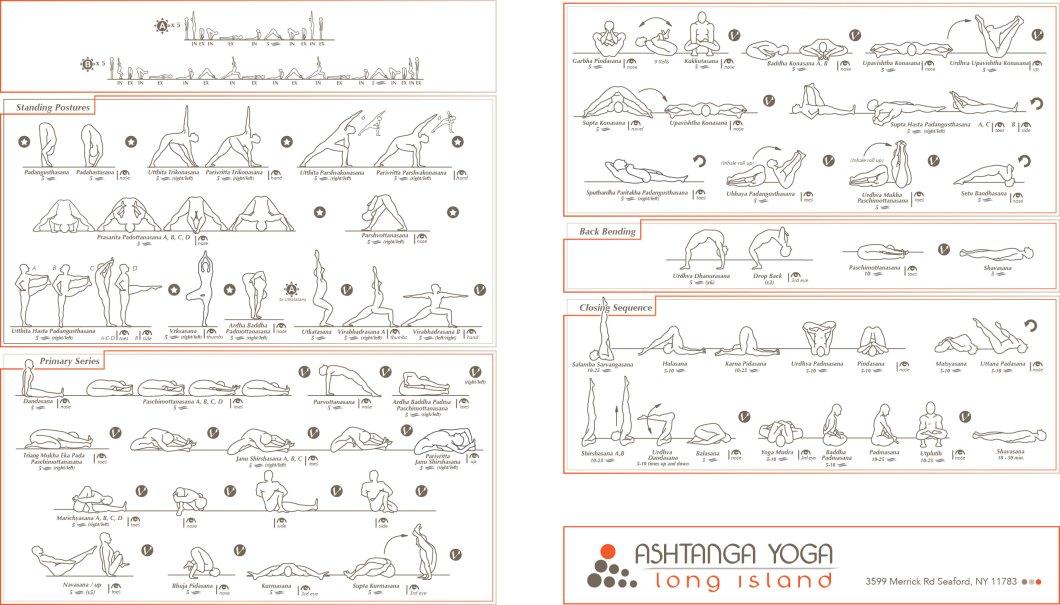 The Schedule Ashtanga Yoga Long Island