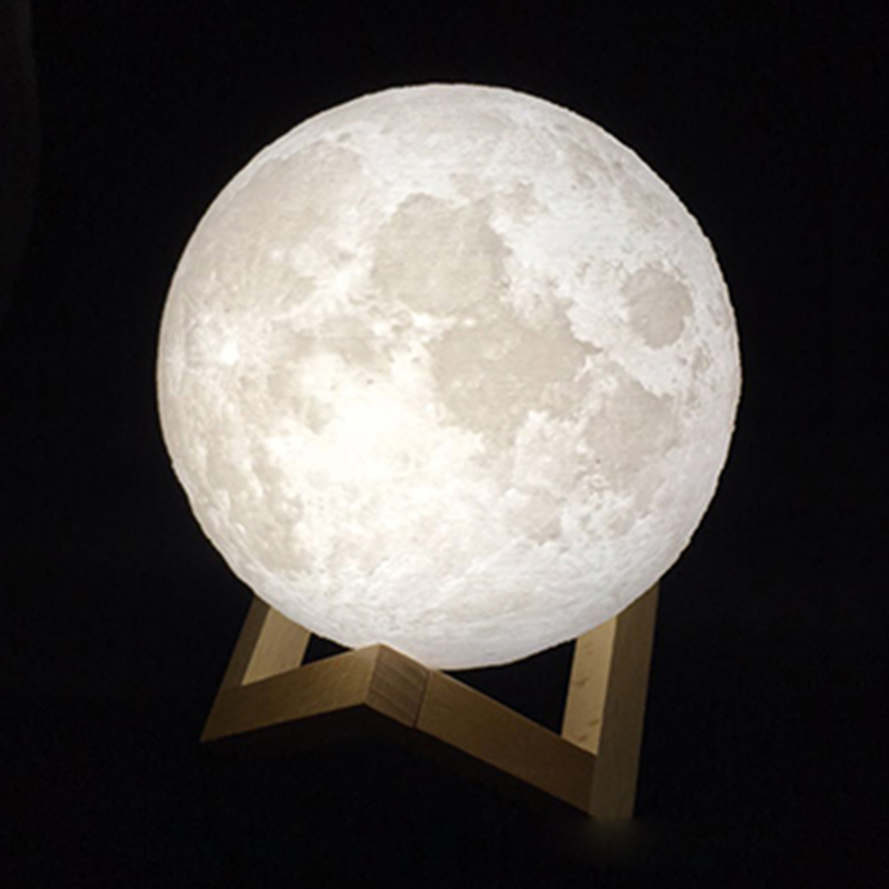 Lamps One Moon Lamp White Yellow Large Asia Emarket