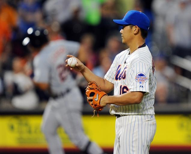 Daisuke Matsuzaka makes Mets debut, first major-league appearance this season in loss to Tigers   - NY Daily News