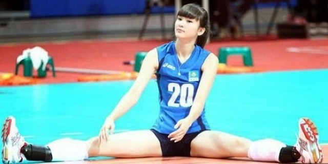 Sabina Altynbekova Is Too Beautiful To Play Volleyball