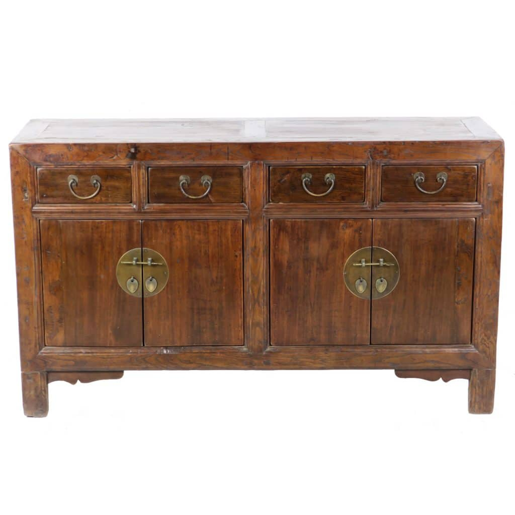 Asia Sideboard Antique Chinese Sideboard Buffet Cabinet 52 Inch Long