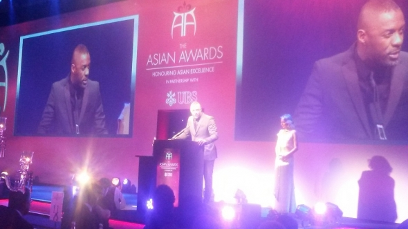 Entertainment stars at the Asian Awards