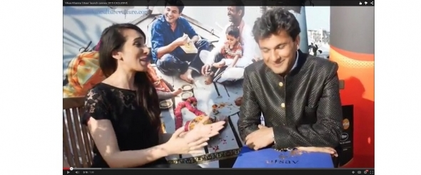 Vikas Khanna 'Utsav' book launch in Cannes 2015: interview (video)