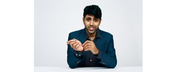 Bafta Breakthrough Brit – Vinay Patel: writing the future…