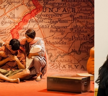 'Child of the Divide' – Actor & writer Sudha Bhuchar on her play and the line, 'People should belong to each other and not to places'…