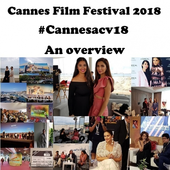 Cannes Film Festival 2018 – A wrap on films, personalities and what's to come on Youtube and video and our #Cannesacv18