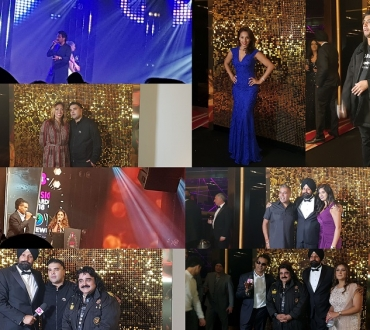 BritAsiaTV Music Awards 2018: Report coming (clockwise) – Raghav, Seema Jaswal, Steel Banglez, Sunny and Shay with Tony Shergill, Apache Indian and Arif Lohar, Naughty Boy, Preeya Kalidas and Shazia Mirza