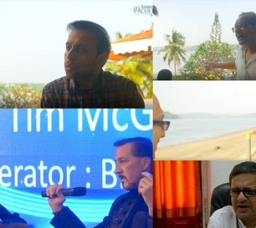 IFFI and Film Bazaar – our video interviews: Tim McGovern (VFX Oscar winner), Ivan Ayr (Soni), Chaitanya Prasad (IFFI director), Samir Bhamra (UK Asian Film Festival), Imthias Mohammed (Lakshawadeep Tourism)
