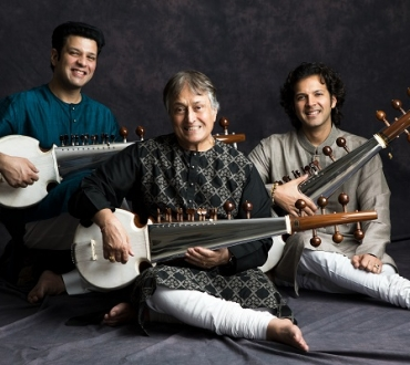 Amjad Ali Khan and sons, Amaan and Ayaan heading for Southbank Centre for rare performance all together