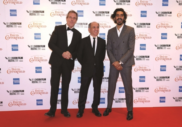 Dev Patel and 'The Personal History of David Copperfield pictures' coming…