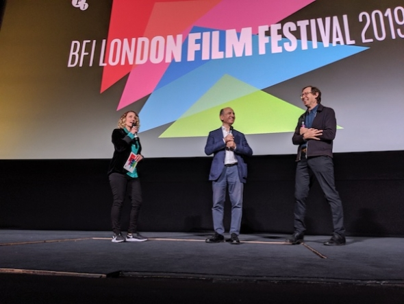 London Film Festival 2019 – 'There was no plan B' (in casting Dev Patel) director Armando Iannucci says at press conference to opening film, 'The Personal History of David Copperfield'