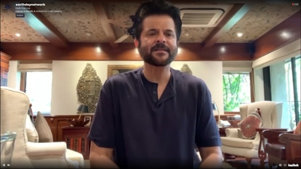 Earth Day Live 2020 Now: Anil Kapoor among those lending support for action – and messages of support from groups and individuals; UK stars in Letters to the Earth…