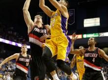Jeremy Lin, Meyers Leonard