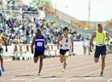"AUSTIN, Texas — The time for a Japanese runner to break through the 10-second barrier in the 100 meters appears to be entering the final turn.  Yoshihide Kiryu clocked a wind-aided 9.87 seconds in the 100 at the Texas Relays on Saturday in his first race this season. The 19-year-old Toyo University sprinter won by finishing 0.02 seconds ahead of second-place U.S. runner Ryan Bailey, who was fifth in the 100 at the 2012 London Olympics.  After crossing the finish line, Kiryu looked up at the clock to check his time. When he saw the numbers, he couldn't help but express his joy, leaping into the air and pumping his right fist skyward.  ""I'm stunned,"" Kiryu said after the race. ""Although the time was wind-aided, it's important to have the experience of a sub-10 time.  SLIDE 1 OF 2PREVNEXT   The Yomiuri Shimbun Yoshihide Kiryu smiles after clocking a wind-aided 9.87 seconds in Austin, Texas, on Saturday. ""I believe expectations [to run under 10 seconds] will fall on me once I return to Japan, so I need to run well.""  The result isn't considered official because there was a tailwind of 3.3 meters per second, above the maximum allowable 2.0 meters.  However, that does not mean Kiryu's time should be underestimated. According to a study by Yoshimasa Noguchi, a member of the Association of Track and Field Statisticians, 9.87 with a tailwind of 3.3 meters is equivalent to a 9.96 with a tailwind of 2.0 meters, and 9.99 with a tailwind of 1.5 meters.  Before Kiryu, no Japanese runner had ever clocked under 10 seconds in the electronic time-keeping era, even with wind assistance. In 1995, Yoshitaka Ito clocked 9.8 with a tailwind of 9.3 meters, but the time was measured manually.  Kiryu ran a 10.01 as a high school student in 2013, the second-fastest time on record domestically.  Koji Ito, who has the national record of 10.00, believes that time will soon be topped.  ""Even with wind assistance, running under 9.90 is tremendous,"" the 45-year-old Ito said. ""I think the big day will arrive soon without difficulty.""  Attacking his weakness  Kiryu on Saturday showed improvement with his start, which has been his Achilles heel.  Over the winter, he worked on his weakness, putting emphasis on changing the placement of his starting blocks. Kiryu moved the left block — which is in front — forward about a half-foot size, and the right block back about one foot to widen his setup.  ""The change enabled me to make my first step smoother, and I was able to getting rid of the inferiority complex I had about my starts"" Kiryu said.  A bitter experience about 1½ hours before the 100 also inspired him. Kiryu was the anchor in the 4x100-meter relay, receiving the baton with the team in first place. However, Justin Gatlin, the 100-meter bronze medalist in London, raced past him to take his team to second place.  When it was time for the 100, Kiryu got off to a good start, jumping out smoothly at the sound of the gun. He went into high gear at around 30 meters, and showed no signs of tightening up. His form looked smooth at the midway point in the race as Kiryu beat Bailey, whose personal best is 9.88.  Recalling his start, Kiryu said: ""It really went well. I had no negative thoughts about it.""  There seems to be even more room for improvement for Kiryu, with this being his first 100 in eight months as he comes back from a torn muscle in his left thigh in September.  Kiryu's next race is the Oda Memorial Meet in Hiroshima on April 18-19.  Shunji Karube, chief of the Japan Association of Athletic Federation's short-distance running division, believes Kiryu might do something special there.  ""I'm looking forward to watching the Oda Memorial Meet. It could become a historic day,"" he said.Speech"