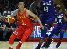Zhao+Jiwei+China+v+United+States+USA+Basketball+kk6kZ1LqHJ3l