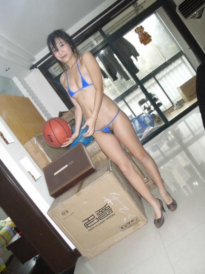 Amateur session of one korean wife