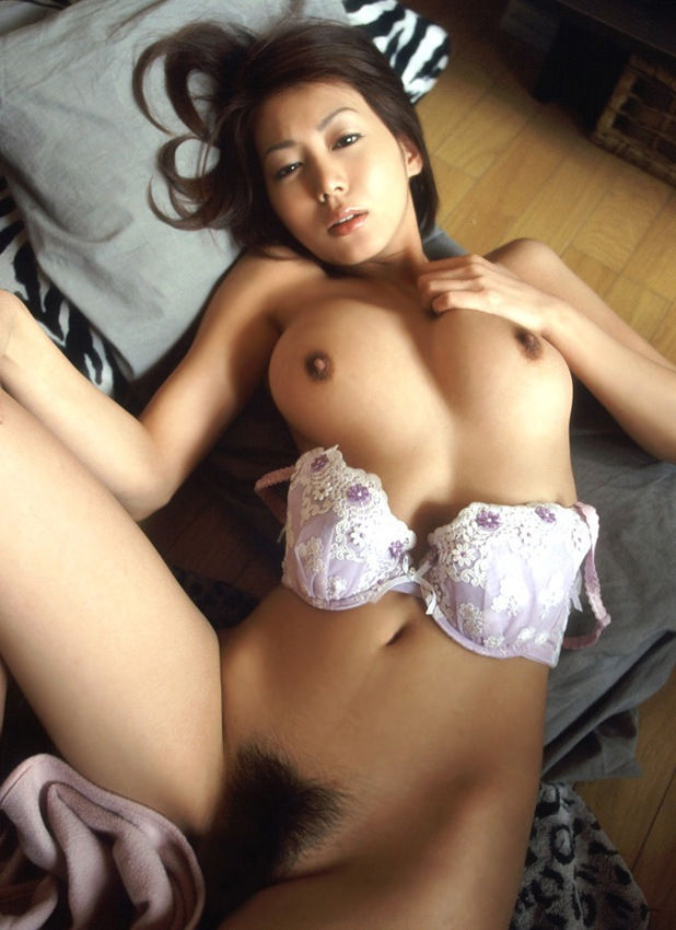 Japanese sexy babe in sexy dress at kitchen
