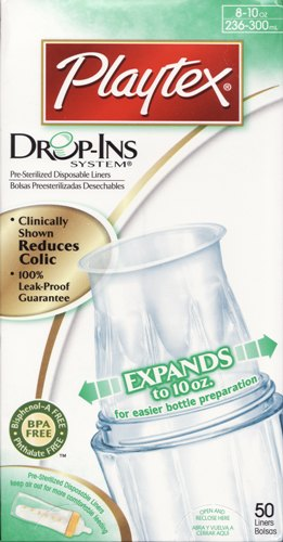 Liner Playtex Drop Ins 8-10oz