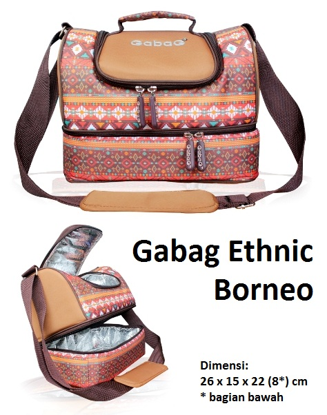 Gabag Ethnic Borneo Coolerbag