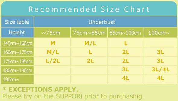 suppori-size-chart