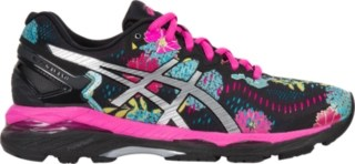 Asic Gel Men Running Shoe Gel-kayano 23 | Women | Black/silver/pink Glow | Asics Us