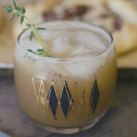 Pear Thyme Cocktail + Find Me on A Fabulous Fete