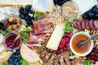 Instagrammable Cheese and Charcuterie Platter - A Side of ...