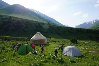 Campingplatz - Tien Shan