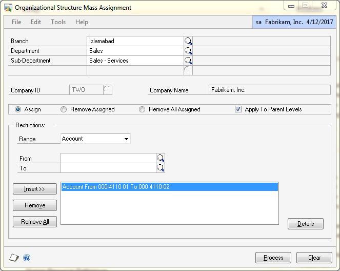 Microsoft Dynamics GP Account Level Security Asif Fattah - MCT, MCITP - microsoft organizational structure