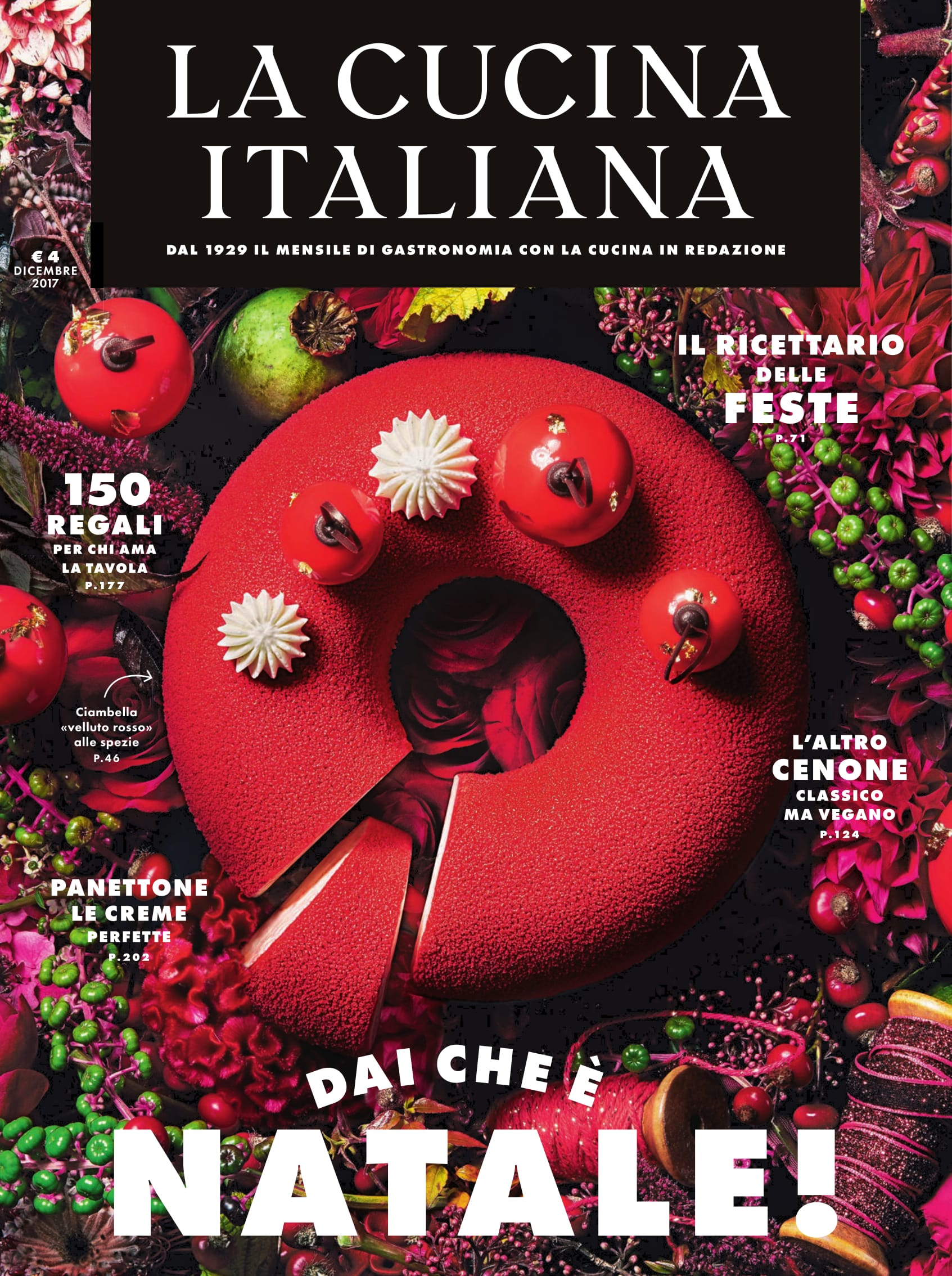 The Magazine Of La Cucina Italiana The New La Cucina Italiana Magazine A Signorina In Milan