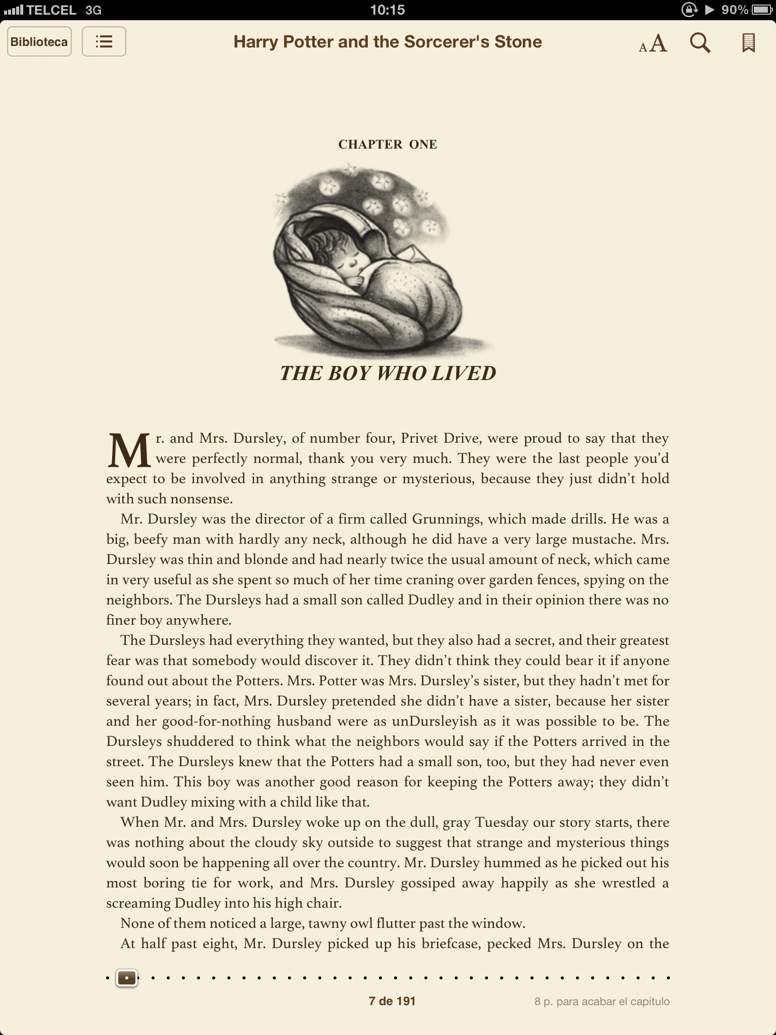 Paginas De Los Libros De Harry Potter Los Libros De Harry Potter Para Iphone Ipad Etc Ebooks