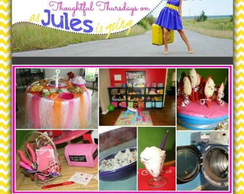 Thoughtful Thursdays on as Jules is going