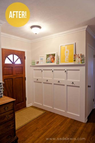 DIY Board & Batten Entryway Redo-3blog