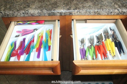 Foster Family Organization silverware