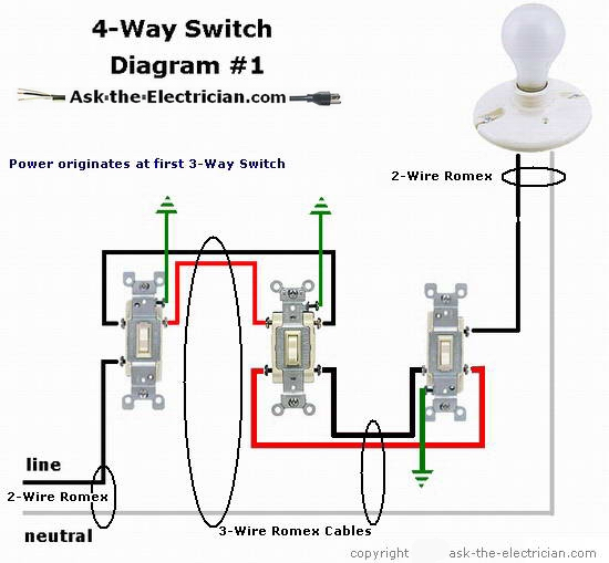 3 wire switch diagram