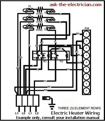 110 Volt Baseboard Heaters Wiring Diagram 220 Volt Electric Furnace Wiring